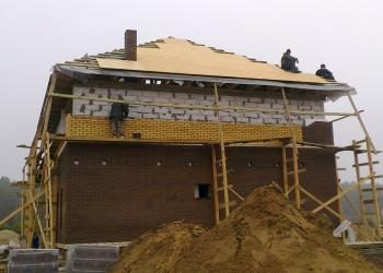 Строительство дома в с. Бобрица